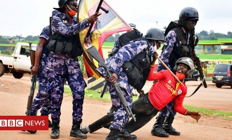 Bobi Wine: Presidential rival's arrest sparks deadly Uganda protests