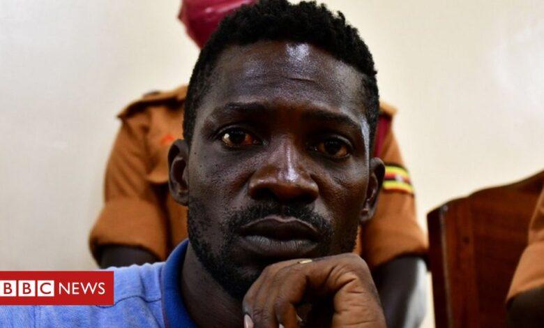 Bobi Wine: Ugandan politician charged for breaking coronavirus rules