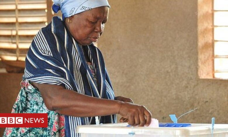 Burkina Faso election takes place amid jihadist threat