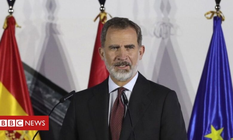 Covid: King Felipe of Spain in quarantine after contact
