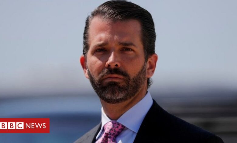 Donald Trump Jr tests positive for coronavirus