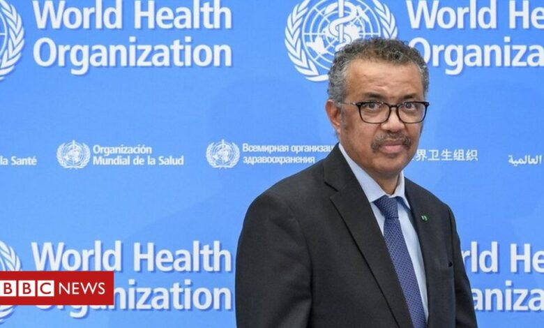 Ethiopia army accuses WHO boss Dr Tedros of supporting Tigray leaders