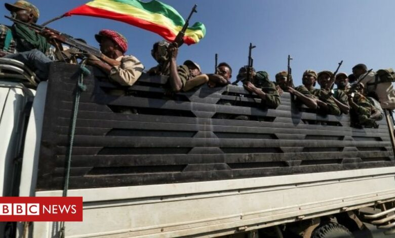 Ethiopia crisis: Arrest warrants for officers amid Tigray fighting