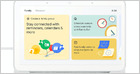 Google adds family-oriented features to Google Assistant devices, like dictating notes that stay on the display, family location map, and educational options (Ian Carlos Campbell/The Verge)