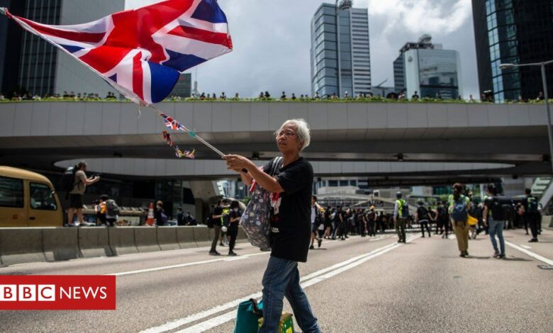 Hong Kong: UK and allies express 'serious concern' over China's policies