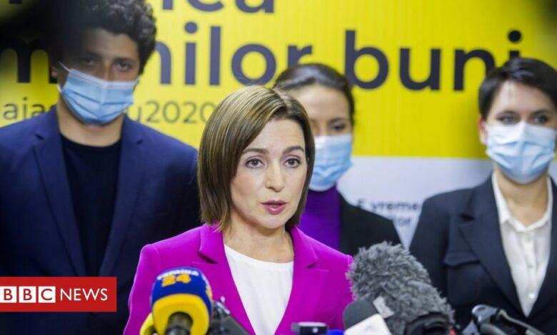 Moldova election: Pro-EU candidate Sandu leads in preliminary results