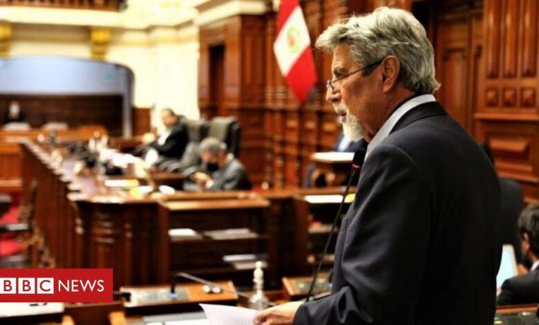 Peru's congress votes in Francisco Sagasti as interim leader
