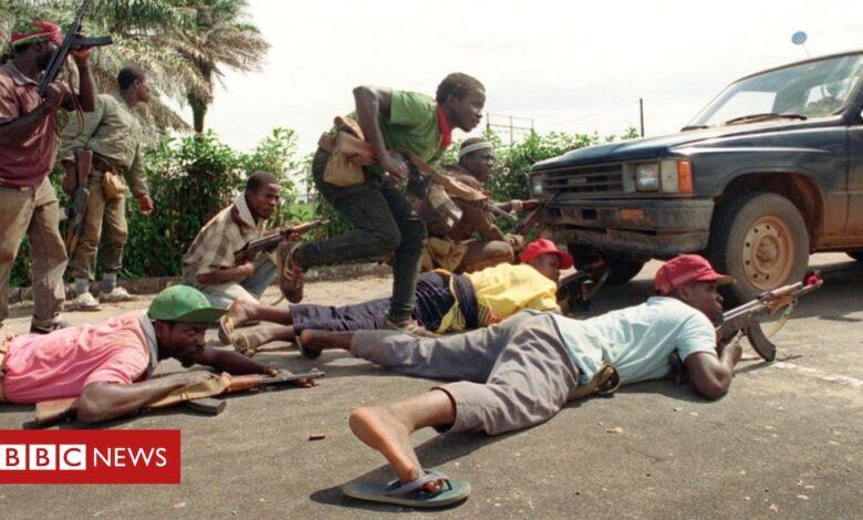 Alieu Kosiah: Liberian ex-commander faces war crimes trial