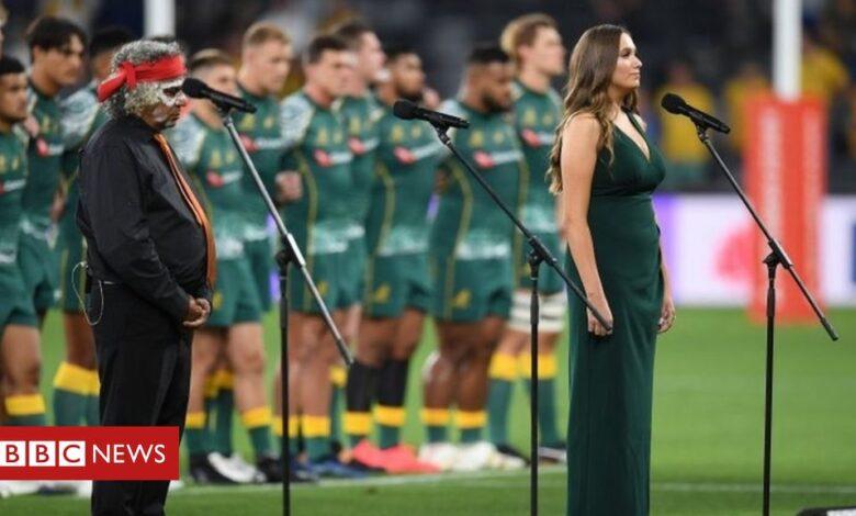 Australia's Wallabies sing anthem in indigenous language