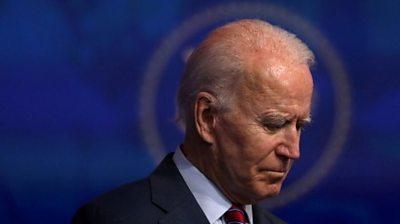 Joe Biden speaking on 4 December