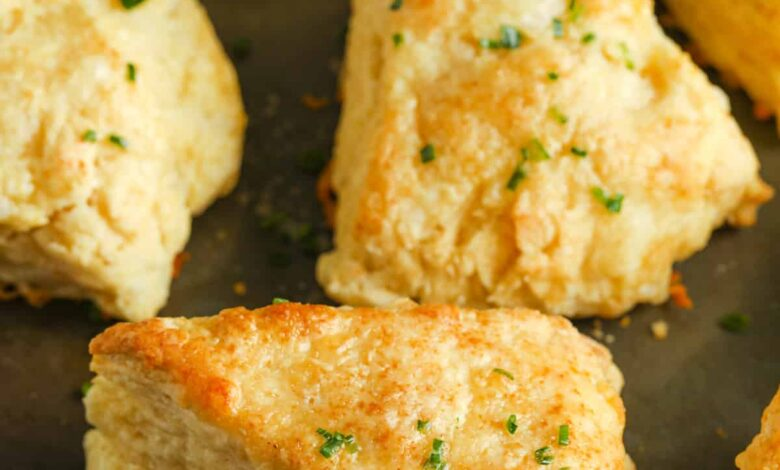Cheddar Cheese Scones (Freezer Friendly!)