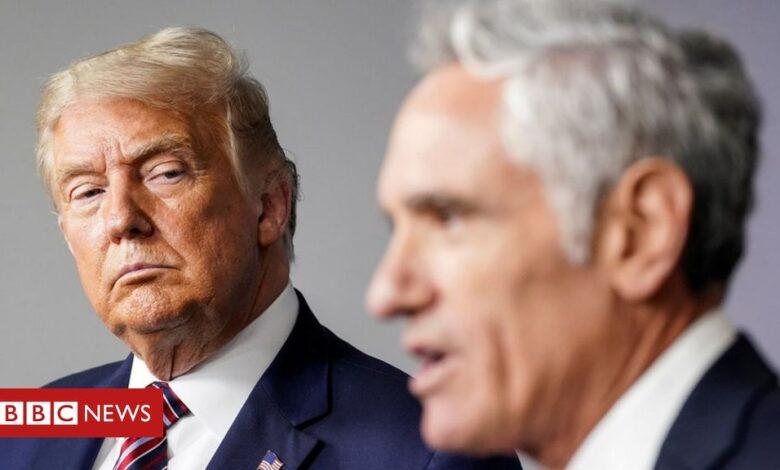Covid: Dr Scott Atlas - Trump's controversial coronavirus adviser - resigns