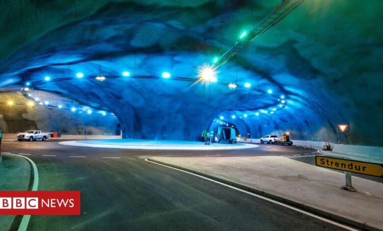 Faroe Islands: Inside the under-sea tunnel network