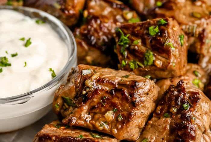 Garlic Butter Steak Bites (From Fresh or Frozen)