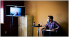 Members of rehab groups like Alcoholics Anonymous say moving meetings online was helpful due to the convenience of virtual sessions, which feel more intimate (Matt Richtel/New York Times)