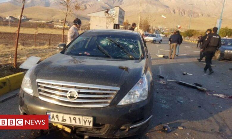Mohsen Fakhrizadeh: 'Machine-gun with AI' used to kill Iran scientist
