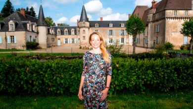 Photo of The pandemic shut down her chateau. Then she became a YouTube star