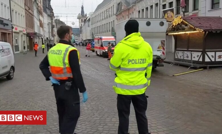 Trier: Two killed by car in pedestrian zone in Germany