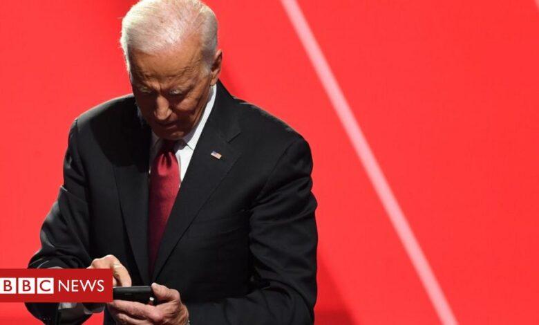 Biden Twitter account 'starts from zero' with no Trump followers