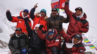 The BBC speaks to Nirmal Purja, one of the team of Nepalese climbers who made history by climbing to the K2 summit in winter for the first time.