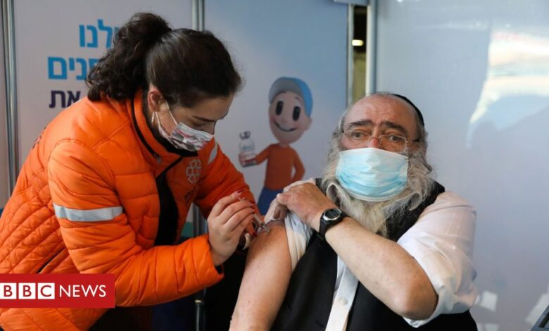 Coronavirus: Israel leads vaccine race with 1m given jab