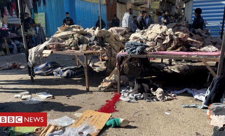 Iraq attack: Twin suicide bombings in central Baghdad kill 13