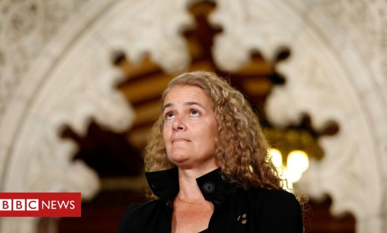 Julie Payette: Canada governor general quits amid bullying claims