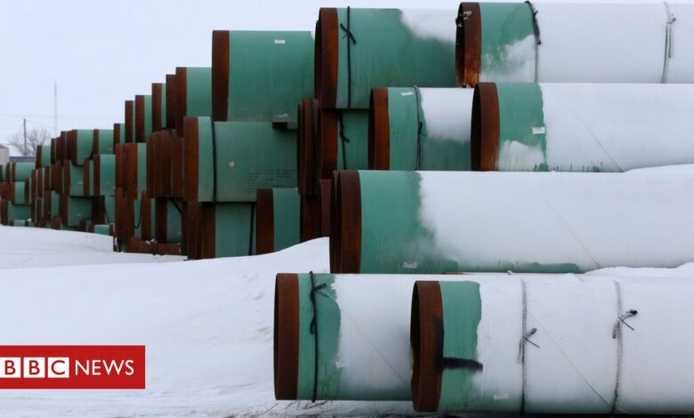Keystone pipeline: Biden 'to cancel it on his first day'