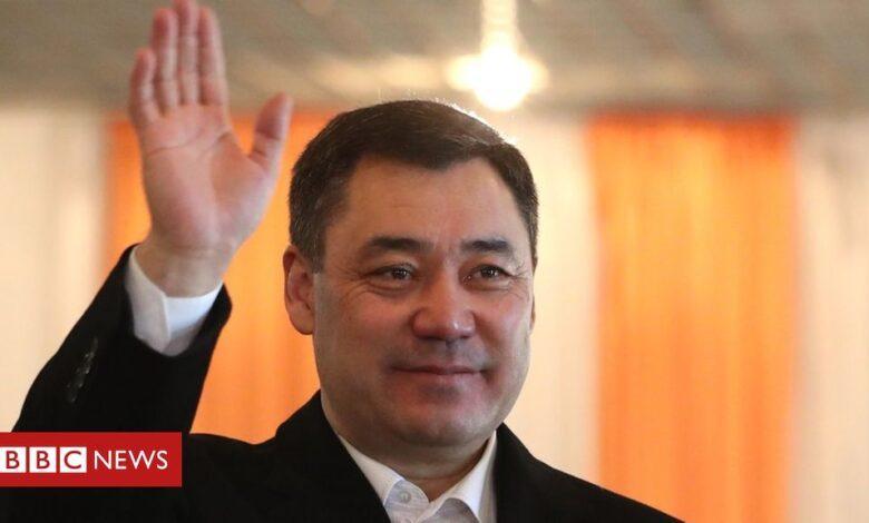 Kyrgyzstan election: Sadyr Japarov looks set for landslide victory