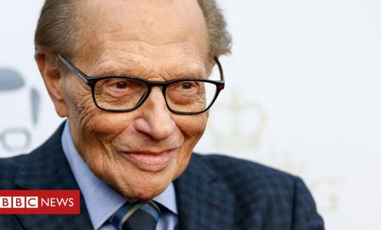 Larry King: Veteran US broadcaster dies aged 87