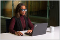 Lenovo unveils ThinkReality A3 Smart Glasses that can show up to 5 virtual 1080p displays, come with 8 MP camera and 2 fish-eye cameras for room-scale tracking (Mariella Moon/Engadget)