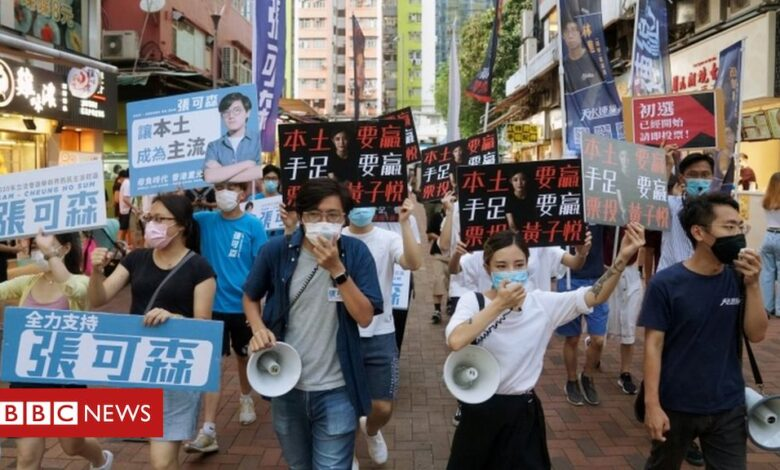 National security law: Mass arrests in Hong Kong 'over primary vote'