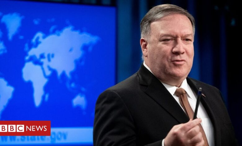 Pompeo: US to lift restrictions on contacts with Taiwan