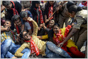 Twitter and Facebook have done little to stop the spread of anti-Muslim messages from Indian politicians, amplifying incendiary voices in pursuit of profit (Alaphia Zoyab/Rest of World)