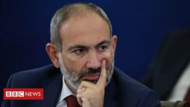 Photo of Armenia PM Nikol Pashinyan denounces 'attempted military coup'