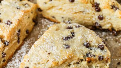 Photo of Mini Chocolate Chip Scones – Spend With Pennies
