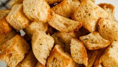 Photo of Air Fryer Croutons – Spend With Pennies