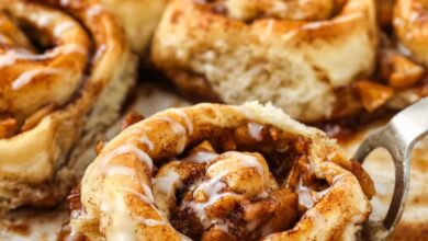 Photo of Easy Apple Cinnamon Rolls