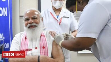 Photo of PM Narendra Modi gets Covid jab as India scales up vaccination