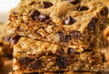 Photo of Peanut Butter Oatmeal Bars – Spend With Pennies