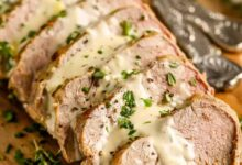 Photo of Roast Pork Tenderloin with Dijon Sauce (Easy to Make)