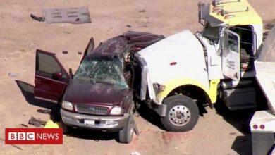 Photo of Thirteen die in southern California crash near Mexico border