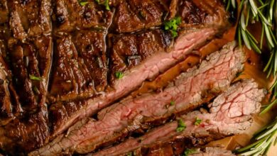 Photo of Balsamic Marinated Flank Steak – Spend With Pennies