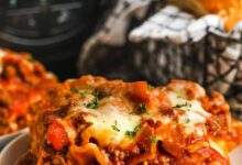 Photo of CrockPot Lasagna – Spend With Pennies