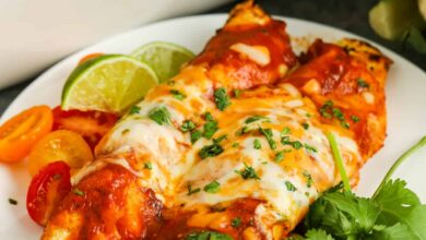 Photo of Veggie Enchiladas – Spend With Pennies