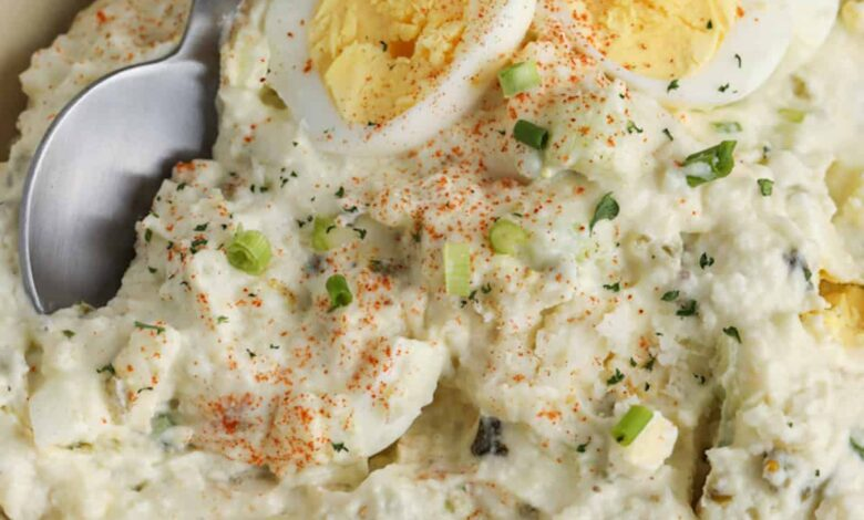 Mashed Potato Salad - Spend With Pennies