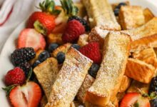 Photo of Air Fryer French Toast Sticks