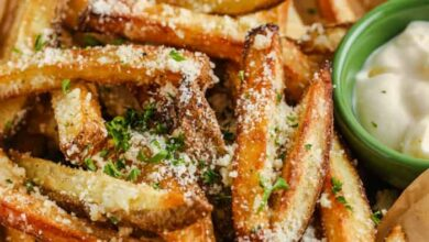 Photo of Garlic Parmesan Fries – Spend With Pennies