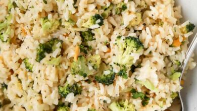 Photo of Quick Broccoli Rice – Spend With Pennies