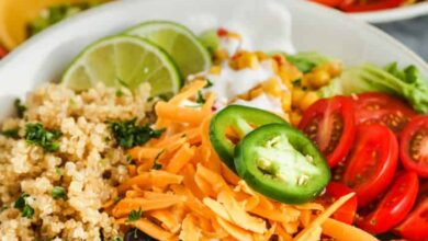 Photo of Taco Quinoa Bowl – Spend With Pennies